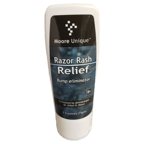 Moore Unique Razor Rash Relief 2.5oz