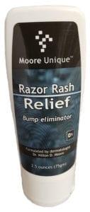 Moore Unique Razor Rash Relief 2.5oz